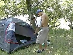 Sex camping in the wood.flv