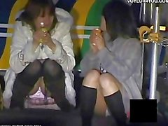 japonés voyeur upskirt bragas ropa interior