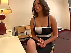 Lou loves anal and she is cumming hard