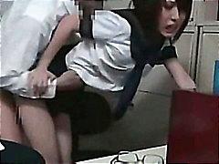 teen amateur blowjob asian schoolgirl