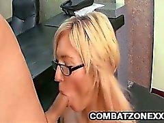 blonde hardcore milf