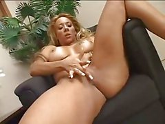 threesome latina strap on big tits