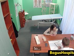 amateur doctor squirting exam nurse