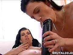 brutaldildos adult-toys girl-on-girl