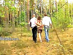 anal forest group sex outdoor