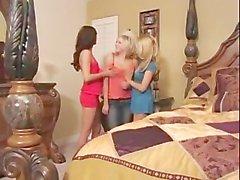 georgia jones kylee reese sandy summers lesbian girl-on-girl