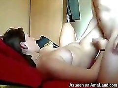 pareja masturbación sexo anal