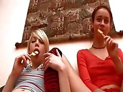 lesbian russian teen horny masturbation