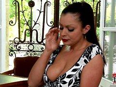 big boobs brunette czech hd latex