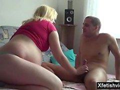 blonde blowjob doggystyle fetish