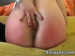 babe blonde blowjob bukkake spanking