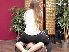 facesitting femdom big ass bondage