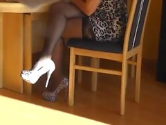 amateur matures stockings foot fetish high heels