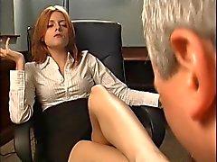 cfnm punapäät femdom jalka fetissi