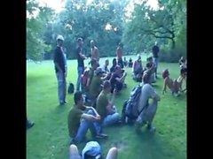 bisexuals flashing german public nudity