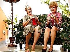lesbisk mogen granny