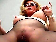big boobs blonde fetish milf