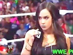 wwe aj-lee butt big-tits natural-boobs