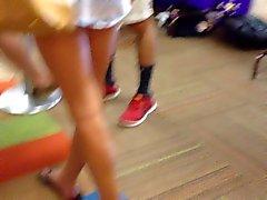 fetichismo del pie cámaras ocultas adolescentes voyeur