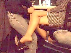 amateur foot fetish nylon voyeur