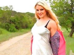 babe nylon outdoor blonde