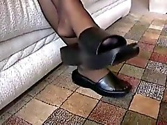 amateur foot fetish nylon