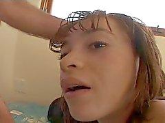 double penetration facials teens