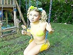 aubrey addams michael stefano pigtails bikini