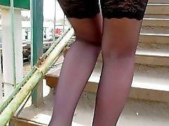 rus çorap upskirts