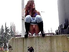 amateur babe fetish outdoor public