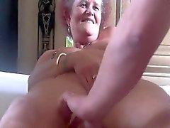 amateur ass fingering masturbation