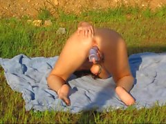 sex toys masturbation nudité en public gros seins de plein air