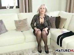 blonde fetish milf