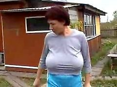 grannies amadurece tits