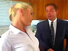 teen schoolgirl blonde hardcore