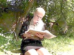 blondine blowjob fetisch hardcore