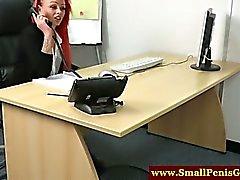 femdom fetish hd nylon redhead