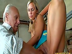 old young blondes threesomes