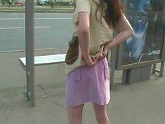 de plein air nudité en public russe étudiante