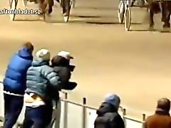 WTF Norweigan Gay Couple Caught Having Sex At A Horse Race !