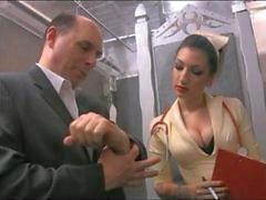 cbt infermiera penetrante catetere feticcio