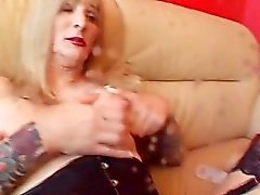 tattoos big-tits blonde