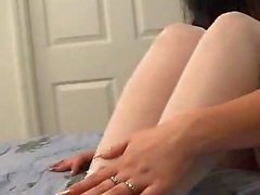 assolo calze masturbazione