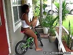 amateur babe black blowjob