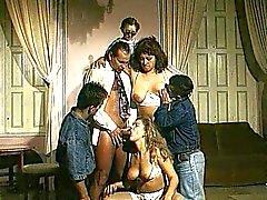 rubia mamada caucásico sexo en grupo