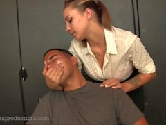 kink bdsm hand-over-mouth handgag breathplay