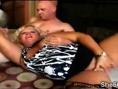 big boobs blondine blowjob fett