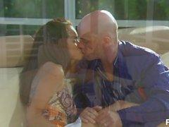 daisy marie latina bruna realtà baciare appassionato sesso alto talloni figa leccata rasata