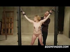 bdsm blonde fetish