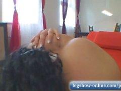 aleska diamond legshow-online retro teenager